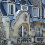 Un balcon au 118 rue La Fayette