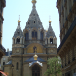 Cathédrale Alexandre Nevsky - rue Daru