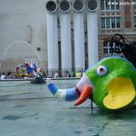 éléphant de la fontaine Niki saint Phalle