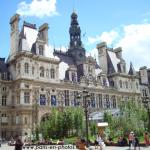 Le jardin éphémère, place de l'Hôtel de Ville de Paris