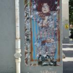 Peinture à la Klimt au coin des rues Gérard et Jonas