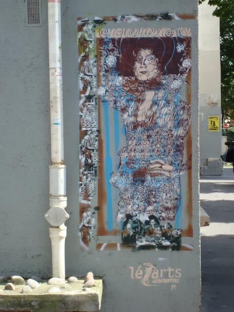Klimt au coin des rues Gérard et Jonas