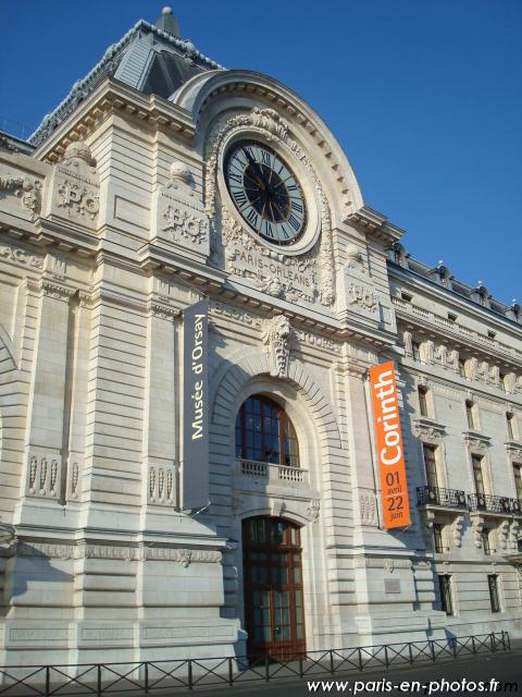 Entrée du Musée d\'Orsay