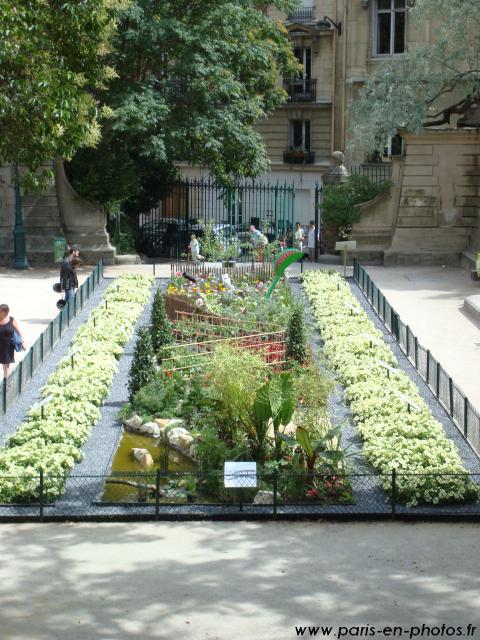 Concours floral au square Capitan