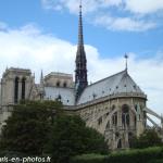 Le choeur de la cathédrale Notre-Dame de Paris