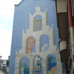 Fresque murale au 72 rue Raymond Losserand