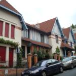 La rue Daviel et ses maisons à colombages