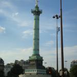 La colonne de Juillet, place de la Bastille