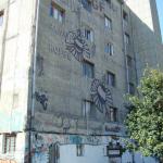 La façade arrière des Frigos