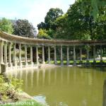 Le lac du Parc Monceau
