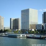 La BNF vue depuis la Seine