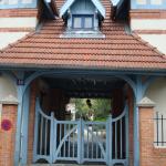 Un cour pavée rue Daviel