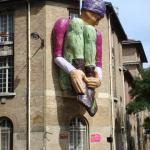 Le géant Isoré au coin d'Alésia et Tombe Issoire