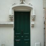 La porte du 22 rue Fortuny