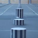 Les colonnes de Buren, au Palais Royal