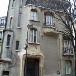 Maison Art nouveau, au 122 rue Mozart