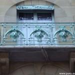 Le balcon du Castel Béranger, 14 rue Fontaine