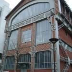 La façade du hangar à air comprimé, quai Panhard et Levassor