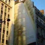 Une façade musicale au 123 rue Montmartre