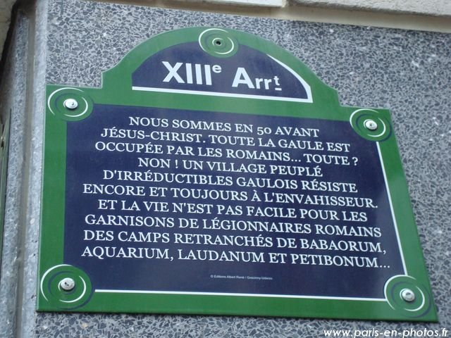 plaque rue goscinny