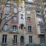 La façade du Castel Béranger, 14 rue La Fontaine