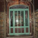 La 2e porte d'entrée du Castel Béranger, 14 rue La Fontaine