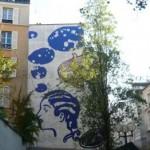 Une fresque de femme, 26 rue Biot