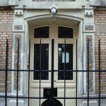 La porte du 3 rue Jean Fautrier