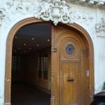 La porte du 144 rue Notre-Dame des Victoires