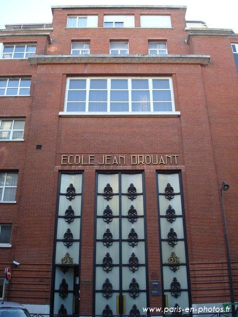 façade lycée hôtelier jean drouant