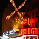 Le Moulin Rouge, place Blanche