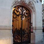 L'entrée du 106 rue Henri Heine