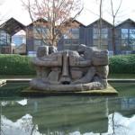 La sculpture Demeure X, parc de Bercy