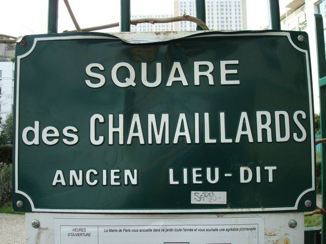 square chamaillards