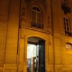 Entrée de l'église Saint-Merry, 76 rue de la Verrerie