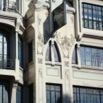 Un détail Art nouveau au 26, avenue des Ternes