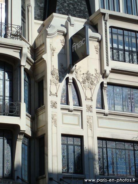 detail art nouveau 26 avenue ternes
