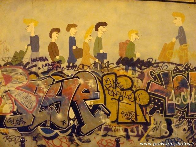 graffiti mur bouvier