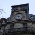 Une horloge avenue Mozart