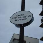 Panneau de rue, rue Goscinny