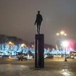 Statue de De Gaulle, place Clémenceau