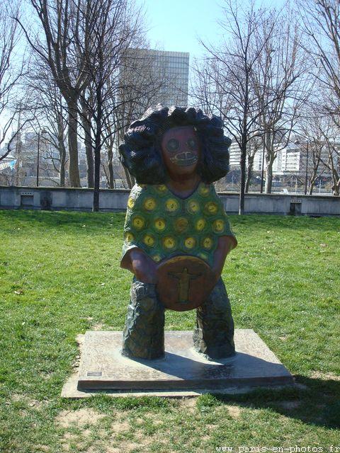 antonio brésilien sculpture bercy