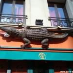 Le croco du Café Oz, 8 bd Montmartre
