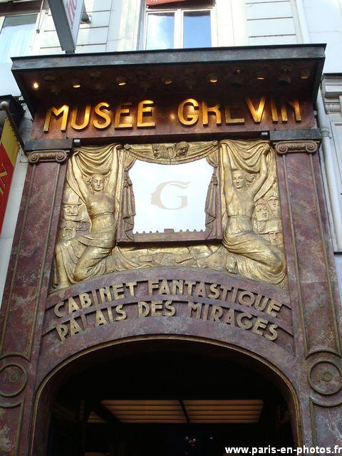 entrée musée grévin