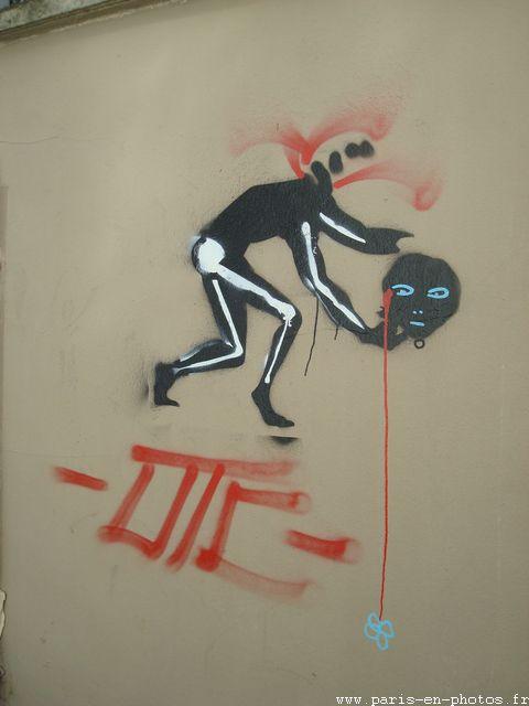 graffiti rue poubot
