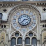 Zoom sur l'horloge du 61 rue Réaumur