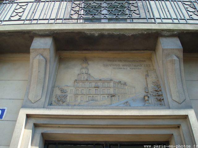linteau porte 10 place jean-baptiste clément
