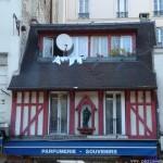 Maison à colombages au 92 bd de Rochechouart