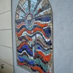 Une mosaïque au 9 rue de la Vistule