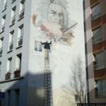 Art mural rue Clisson : Jean Sébastien Bach